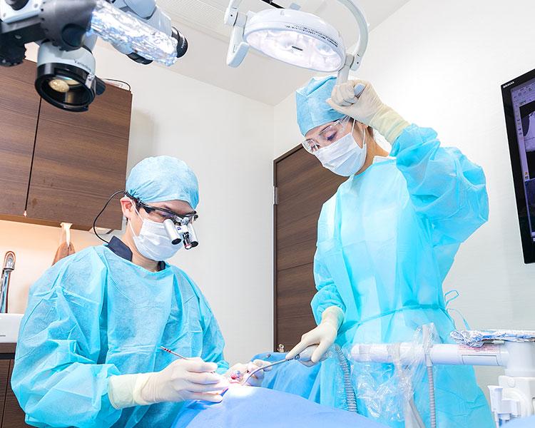 歯周外科処置で「大切な歯」を残す