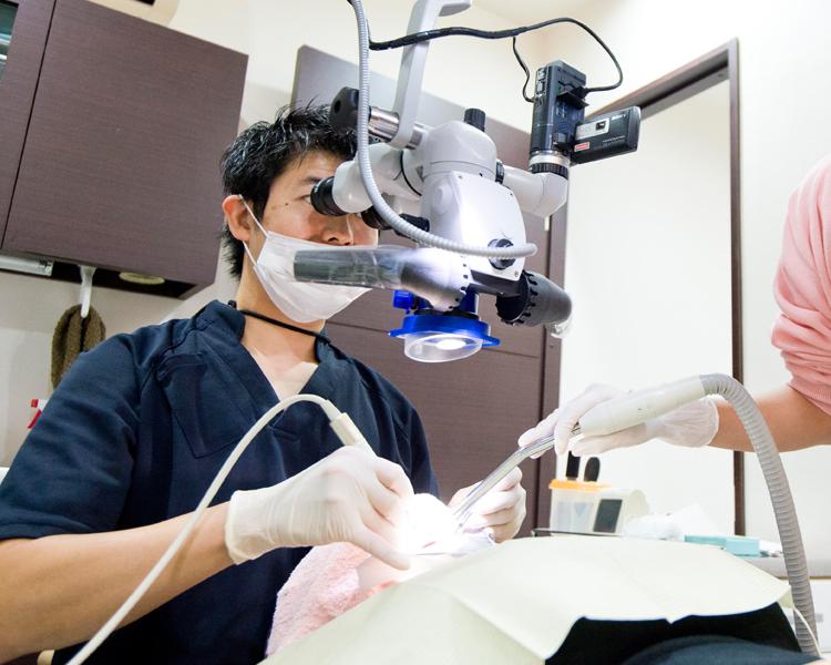 低侵襲な治療で「大切な歯」を残す